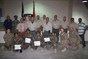 Afghan helicopter MXT training