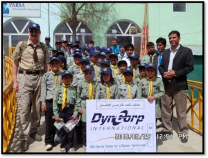 afghan scouts dyncorp intl