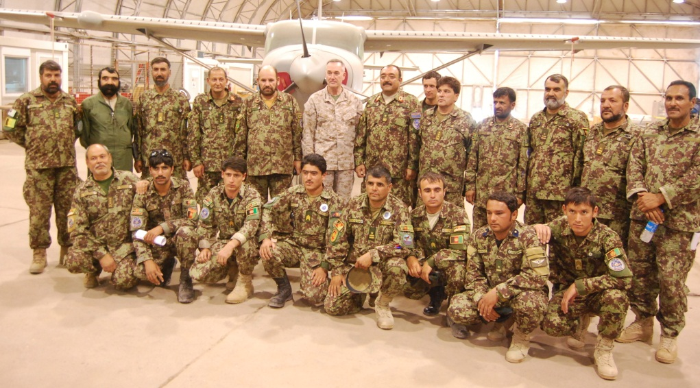 afghan military officers dyncorp intl